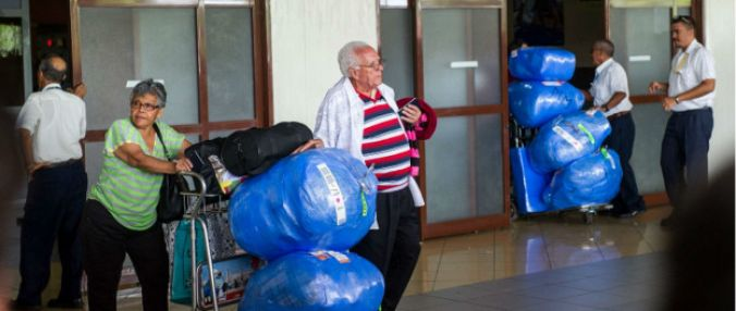 From now on Cuban folk arriving the country will not be able to carry as much products as before.