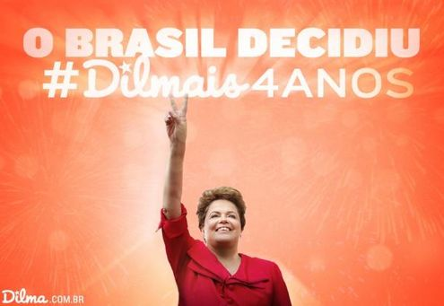 Twitter Dilma Rousseff @dilmabr