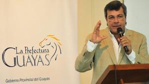 Prefecto del Guayas, Jimmy Jairala.