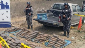 """Police of Ecuador disrupts the """"most dangerous"""" drug trafficking network the country 'in the 'Pacific Operation'."""