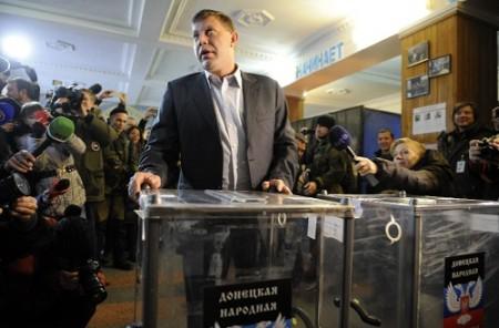 Ucrania-Zajarchenko-lider-separatista-gana-elecciones