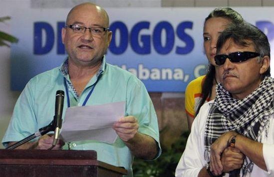 El comandante de las FARC, Carlos Antonio Lozada. EFE