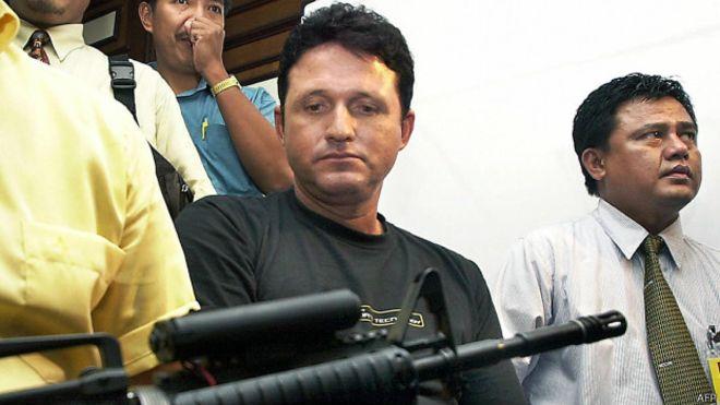 El brasileño Marco Archer Cardoso Moreira. AFP