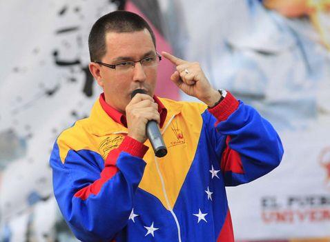 Venezuela-vicepresidente-Arreaza-amenaza-carcel-protestantes