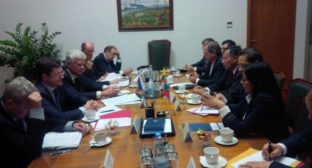 venezuela-rusia-ecuador-reunion-petroleo