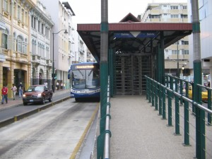 In 7 Metrovia stations, users will only be able to use the service with the electronic card.