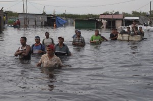 Heavy rains have caused flooding in Peru, a country that could be affected by El Niño. (Source: d24ar.com).