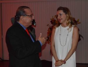 Ariana Bianchi with Álvaro Noboa