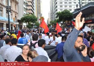 3 marchagye-paisdivido-Ecuadortimes-Ecuador news-Noticias de Ecuador