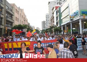 MarchaGYE_contragobierno_Ecuadortimes-Ecuador news-Noticias de Ecuador