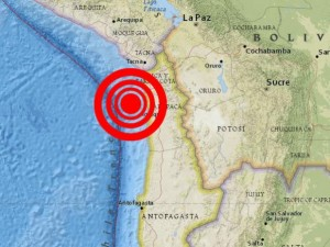 North of Chile under the threat of a possible tsunami
