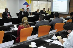 Meetings between representatives of the public and private sector.