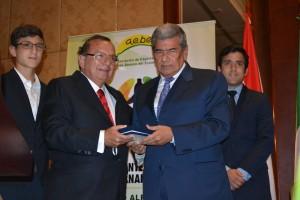AlvaroNoboa-presea AEBE-ECUADORTIMES-ECUADORNEWS