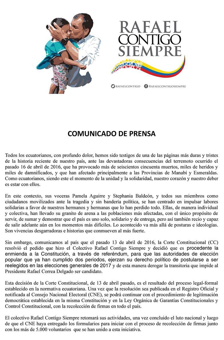 RAFECL CONTIGO-ECUADORTIMES-ECUADORNEWS