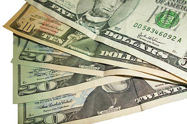 dolares de 20 y 5