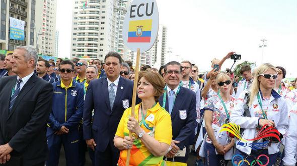 ECUADOR-JUEGOS OLIMPICOS RIO 2016